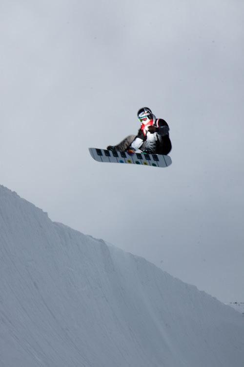 ben comber snowboarding