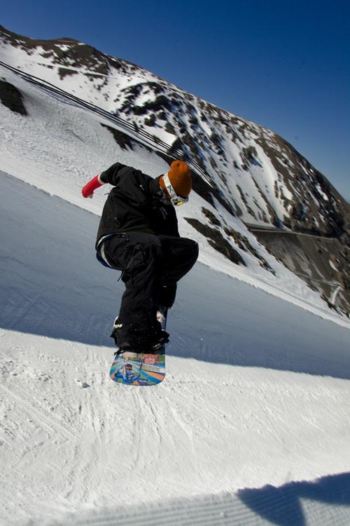 michael mccloy snowboarding