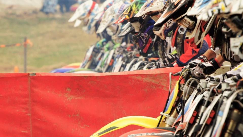 motocross starting gate