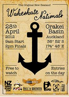Skate Nationals 2012 poster