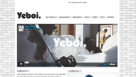 yeboi website design