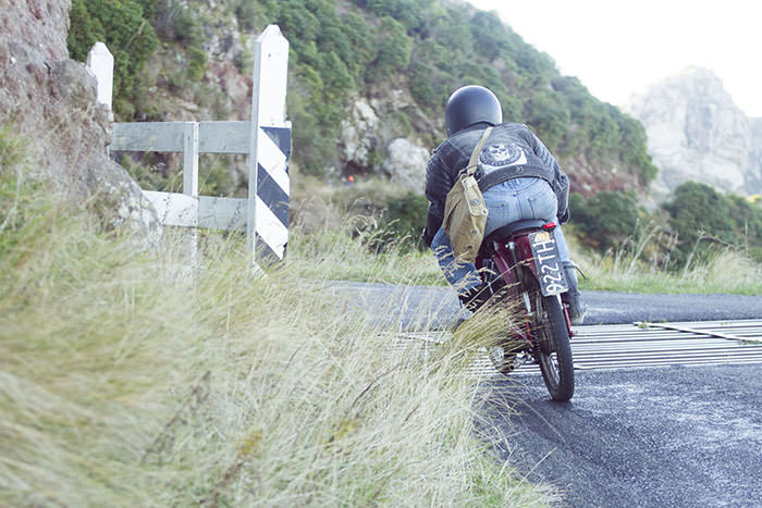 mopeds in the hills