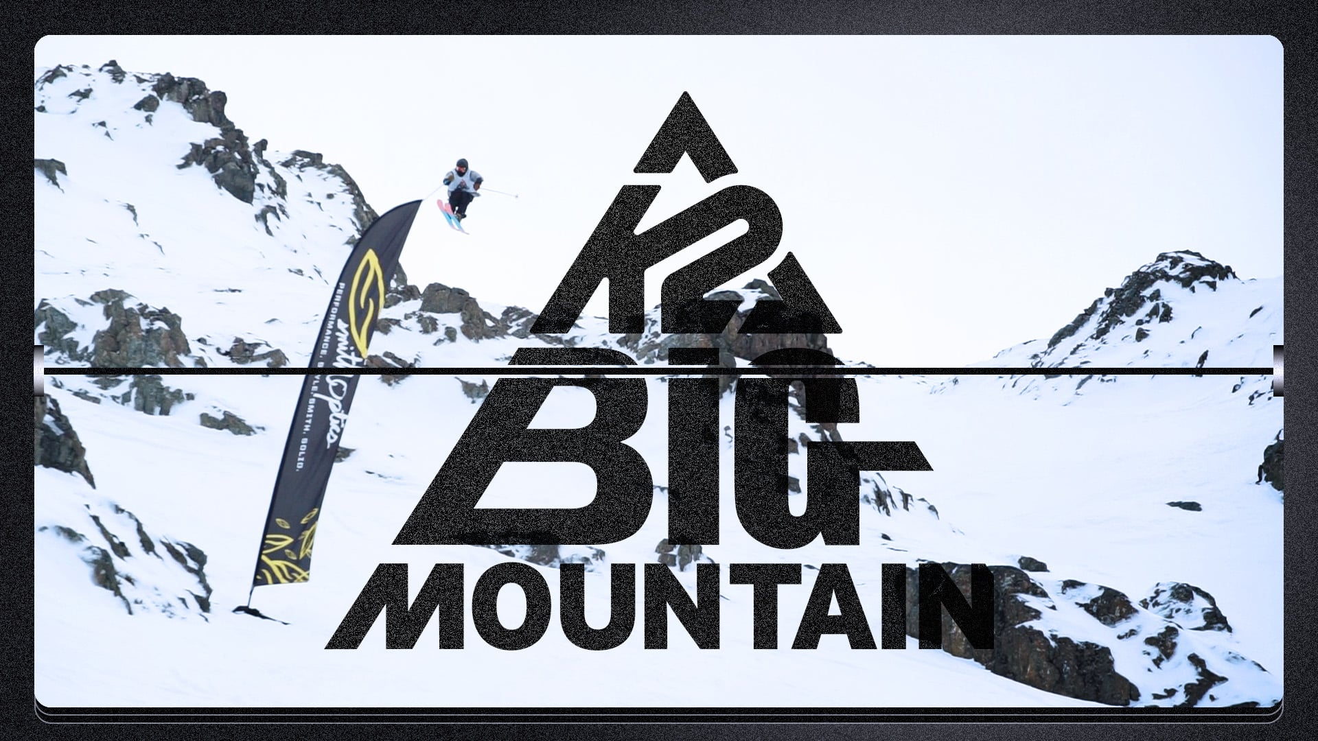 skiing event title card