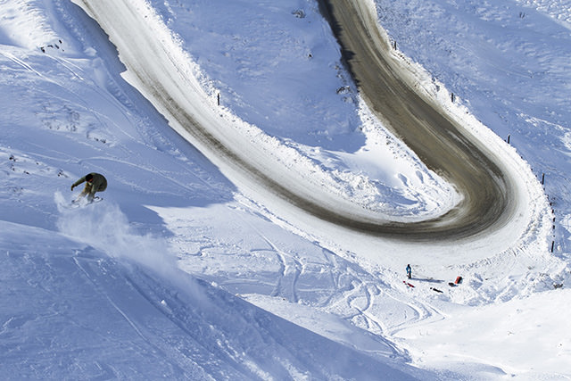 Nick Hyne - Frontside 360, Cardrona Front Country