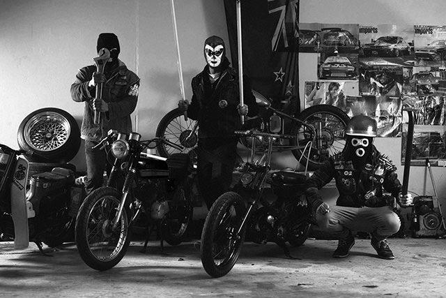 qcr quake city rumblers mopeds