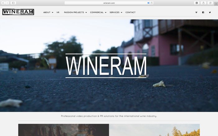 wineram screen