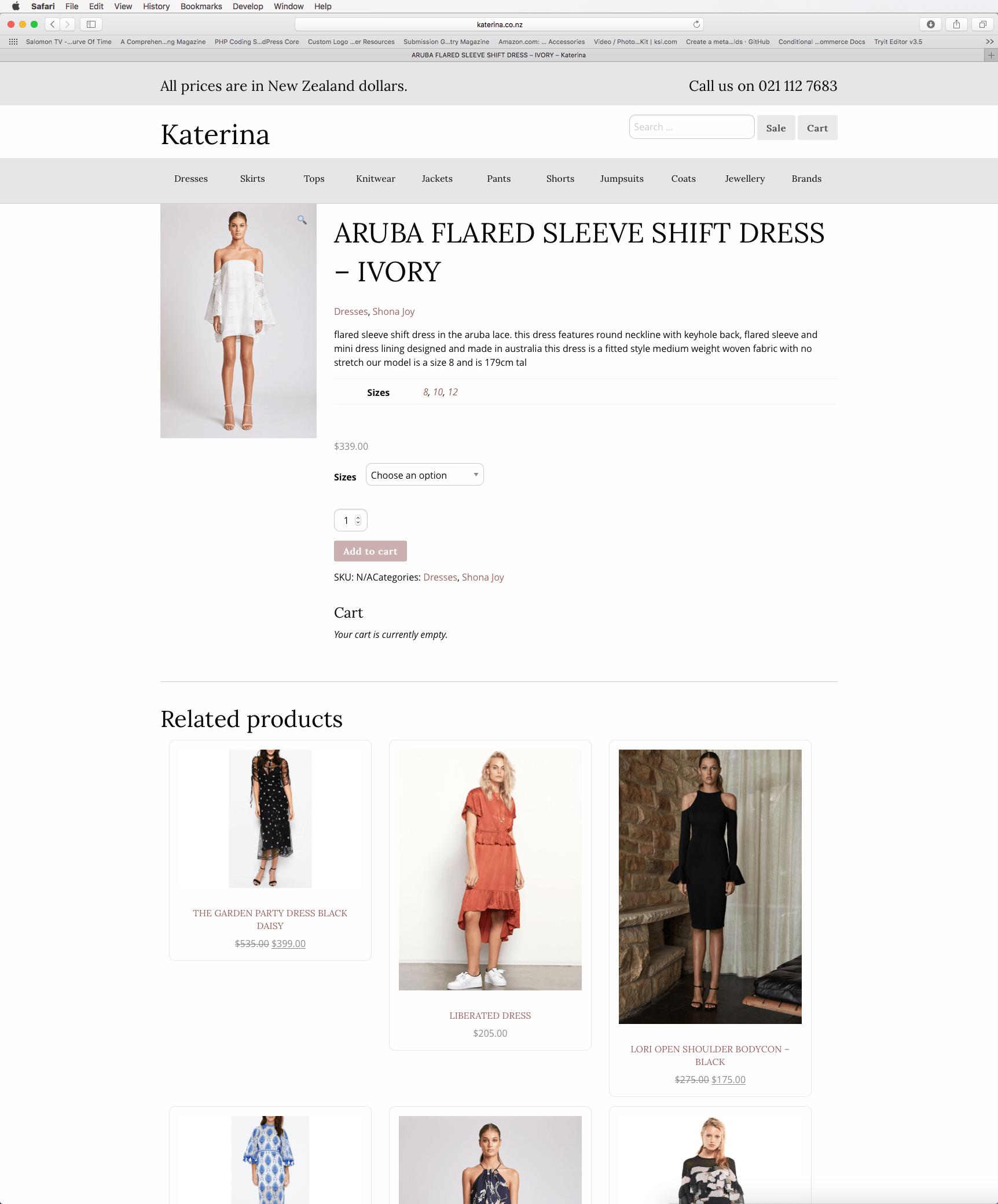 website front end development