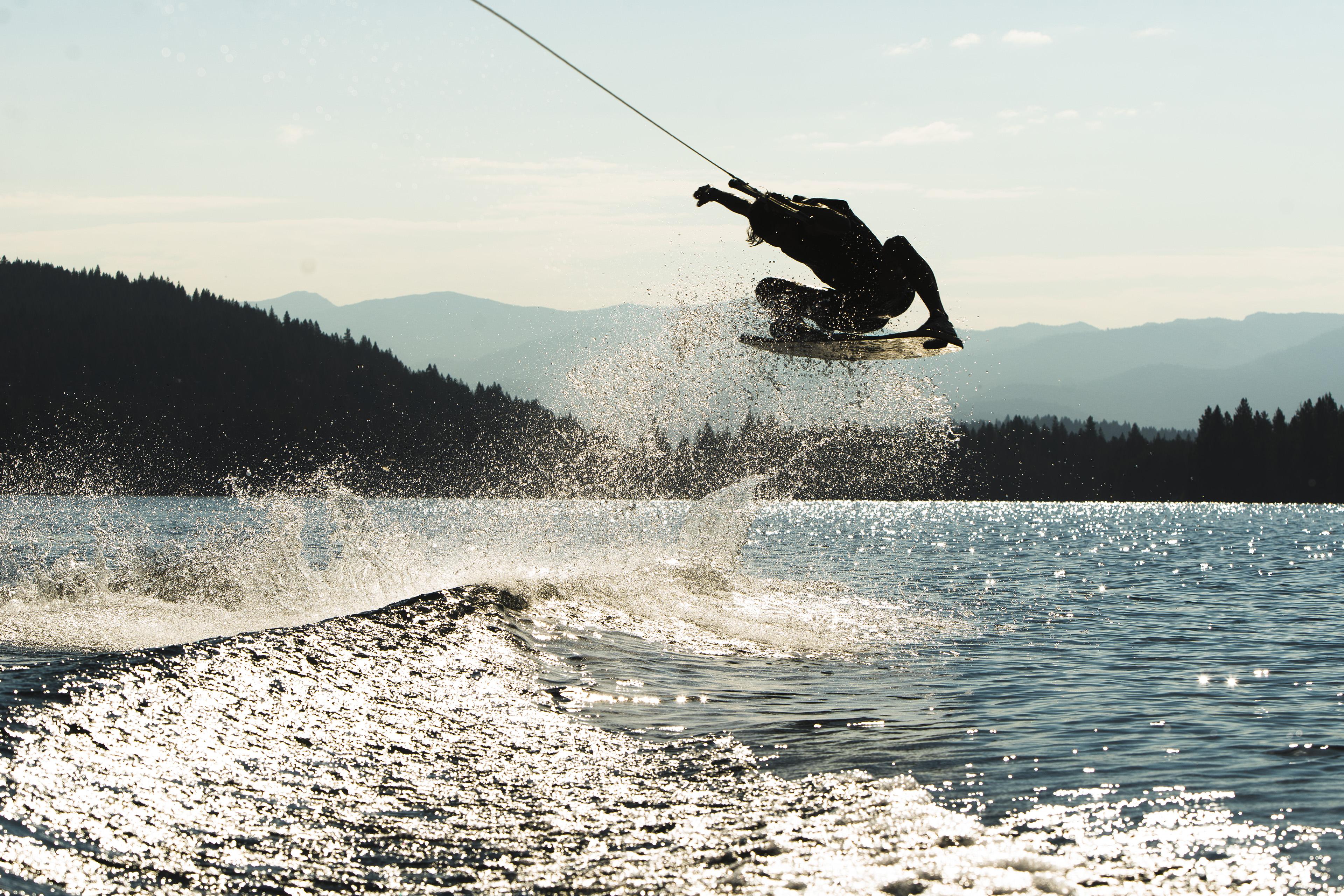 wakeskater in tahoe