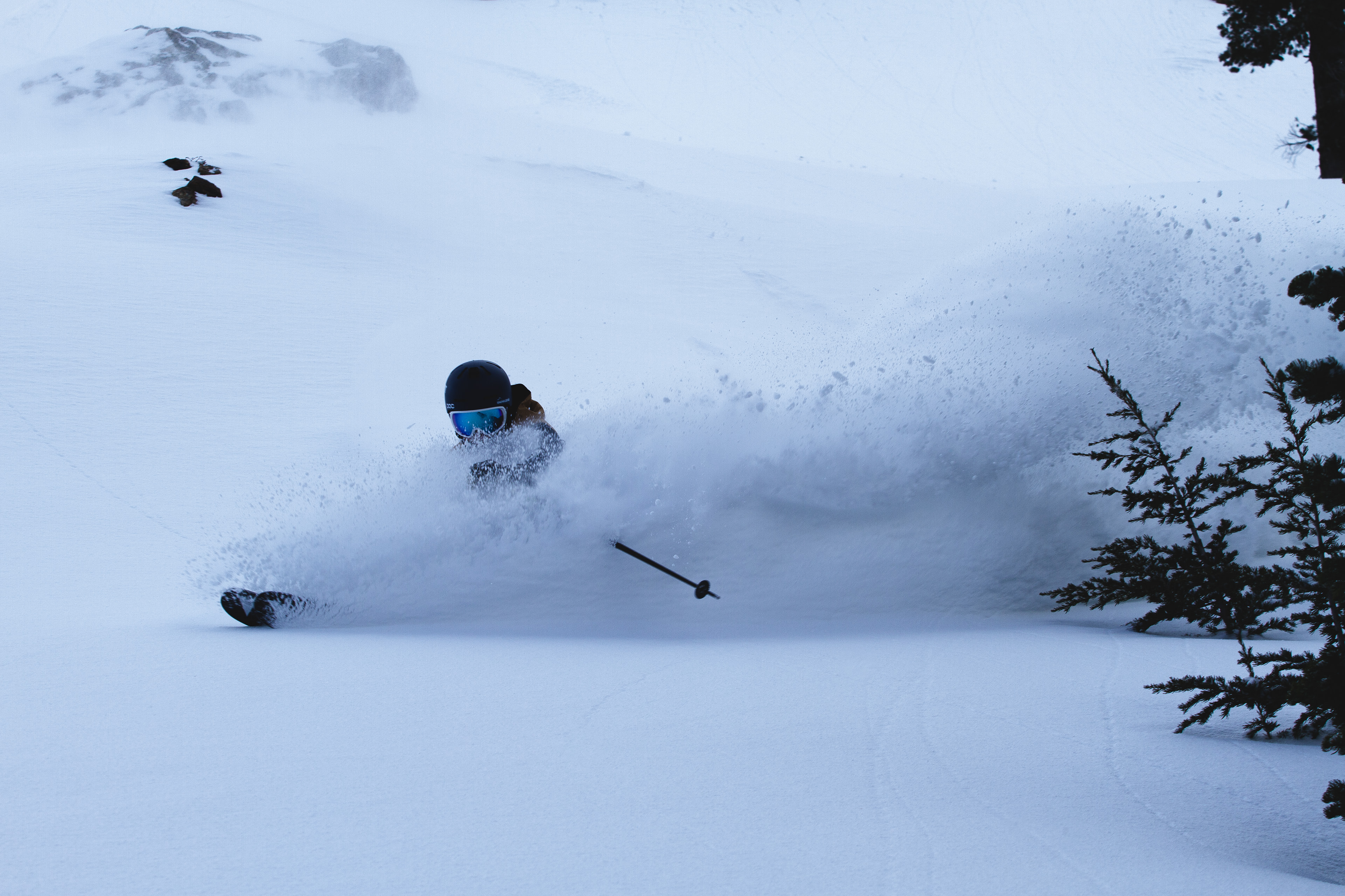 eric lee obrien deep powder skiing