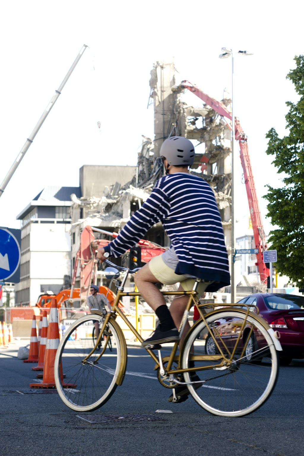 gold bikes and broken cities