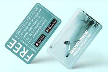 snowledge download card front and back