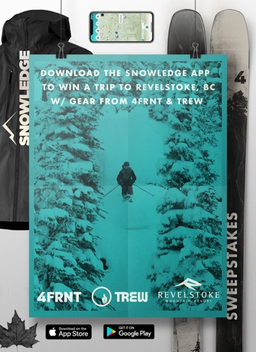snowledge sweepstakes poster design